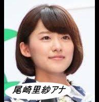 尾崎里紗アナの画像