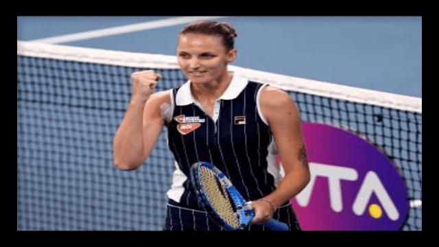 カロリナ・プリスコバ,テニス,女子