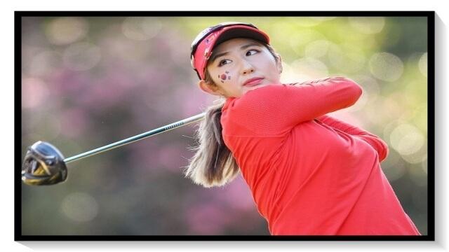 ぺ・ソンウ,ゴルフ,韓国,女子プロ,美人,可愛い