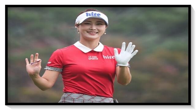キム・ハヌル,ゴルフ,韓国,女子プロ,美人,可愛い